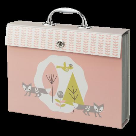 Zeichenmappe aus Karton 'Fox pink'